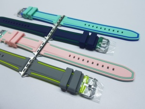 Dây cao su sọc kép Apple watch 42mm